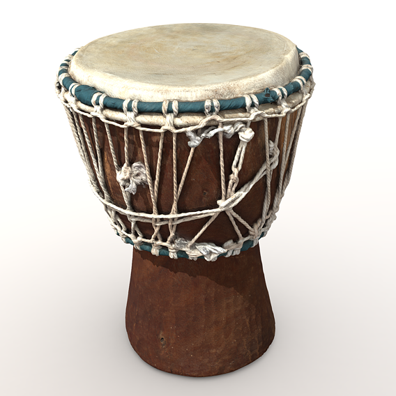 Handmade african drum