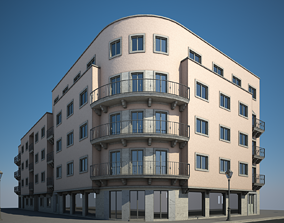 Apartment Building VII 3D model