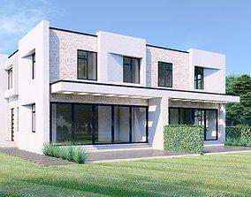 Modern House - ABD 2-0 3D model