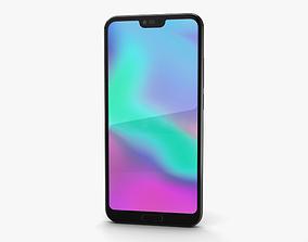 3D Huawei Honor 10 Midnight Black