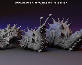 Snail monsters - Sea Maggots 3D printable model