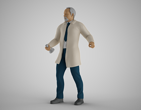 3D printable model Professor