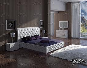 luxury 3D model Bedroom