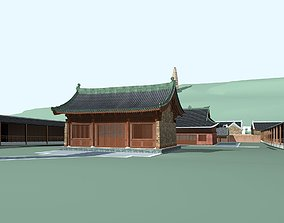 structure Chinese Style Architecture 3D model