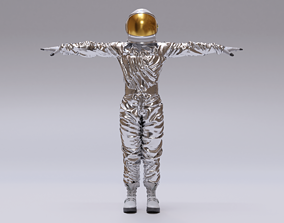 3D model Spacesuit Astronaut Rigged - Astronauta Traje 1