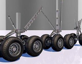 Landing gear 3D asset