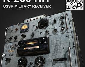 R-250 USSR military receiver 3D asset