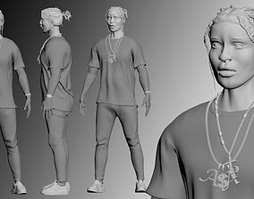 ASAP Rocky Model