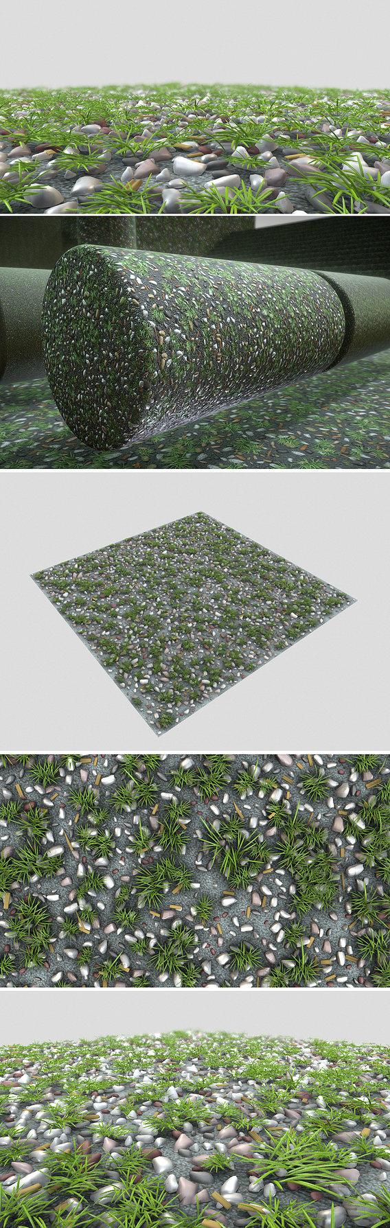 Gravel Lawn Texture (1) Texture Set (41)