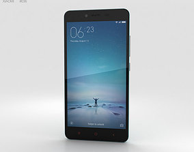 3D model Xiaomi Redmi Note 2 Blue