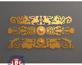 3D model Gold decoration