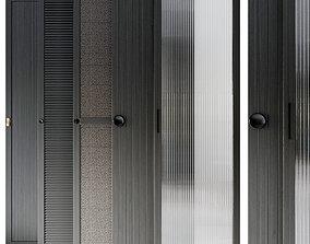 Waredrobe doors collection 3D