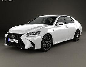 3D f Lexus GS F Sport 2015