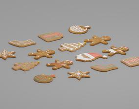 3D model Gingerbread Man G38