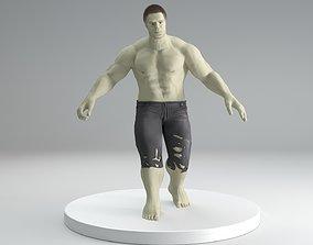 hulk avengers 3D asset