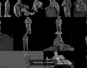 Tank Crew 3D model