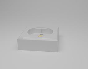 3D model electrical socket