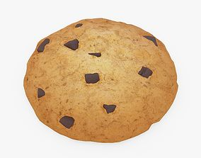 3D asset realtime Chocolate Chip Cookie