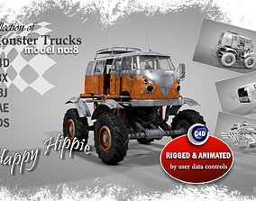 3D model Monster Truck 8