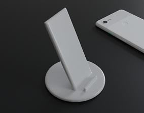 phone stand like pixel stand 3d printable