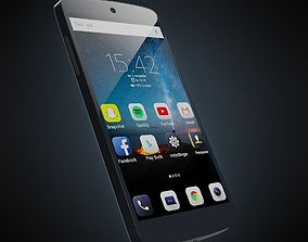 Generic Android Phone 3D model low-poly