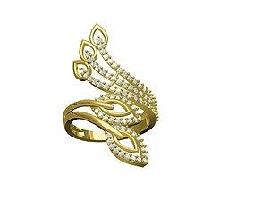 rings 3D printable model fashion ring
