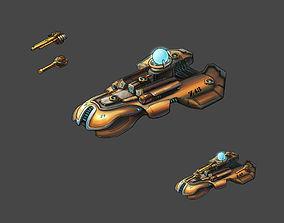 3D model Lightweight - Battleship 03