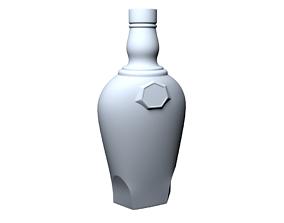 Bottle 3D printable model print