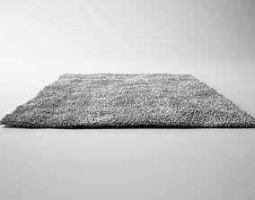 Light Grey Carpet - Rug 3D model
