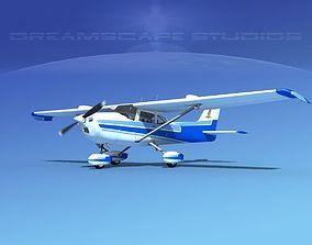 3D model Cessna 172 Skyhawk STOL V02