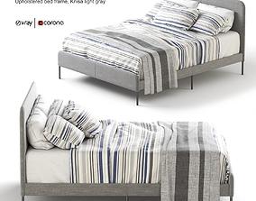 ikea SLATTUM Upholstered bed 3D model