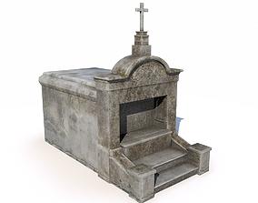 Mausoleum - tomb 3 3D asset
