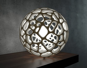 3D printable model Generative design Voronoi sphere high 1