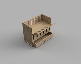 3D printable model Baby Cot or Crib