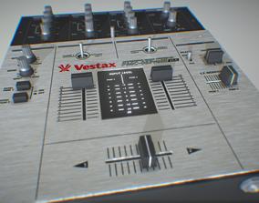 3D Vestax DJ Mixer