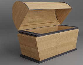 Treasure Chest 3D model VR / AR ready PBR other
