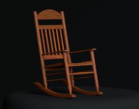 3D model diningroom Rocking chair