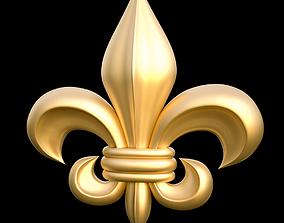 Decorative Fleur de Lis 3D model