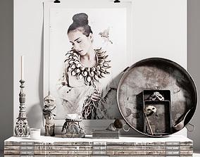 AVE Paulina Arcklin Decorative set 3D model