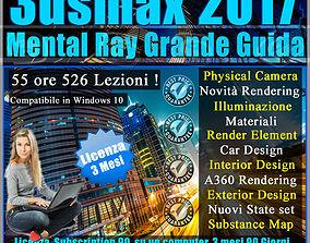 Corso 3ds max 2017 Mental Ray Grande Guida 3 mesi