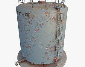3D model Industrial Tank Type 2