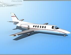 rigged Falcon3D Citation V C560 F02