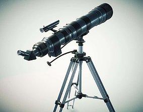 optic Telescope 3D model