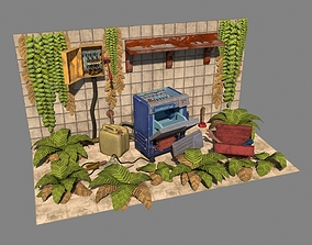 Kitchen IceMatic 3D model