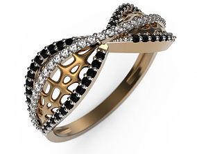 Ring MR-7 Woman Jewelery STL 3d print