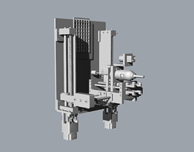 3D print model CNC Machine