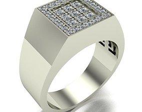 MAN RING jewelry rings 3D printable model