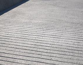 Large area seamless concrete ground texture corona 3D