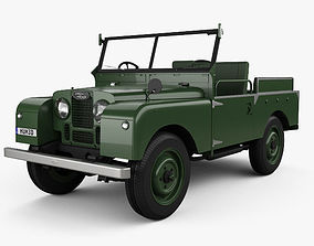 3D model Land Rover Series I Churchill 1954