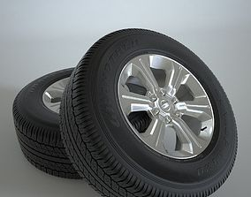 3D model Wheel of Pickup Truck